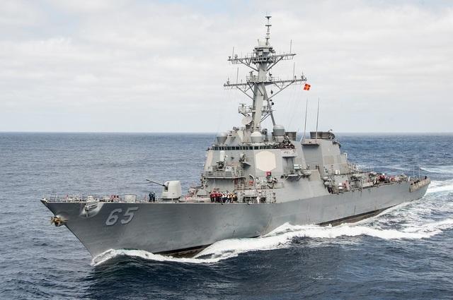 Tàu khu trục USS Benfold của Mỹ (Ảnh: US Navy)