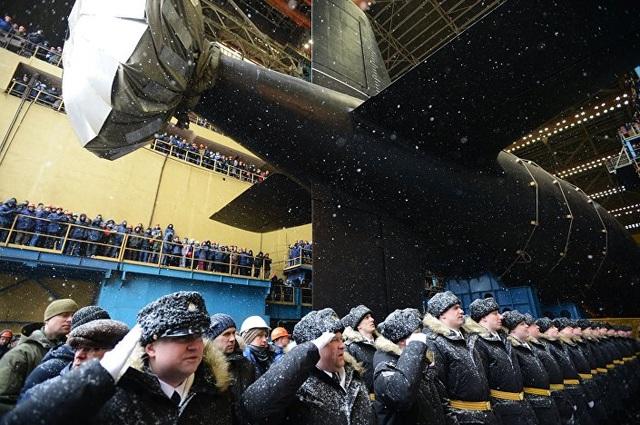 Kazan được xem là tàu ngầm tấn công hạt nhân tiên tiến nhất của Nga vì nó rất khó bị phát hiện khi hoạt động dưới biển do độ ồn rất thấp. (Ảnh: Sputnik)