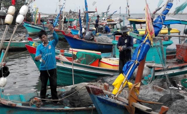 Kiên Giang hiện đã có 6.591 tàu thuyền trên địa bàn tỉnh đã về nơi tránh trú bão an toàn.