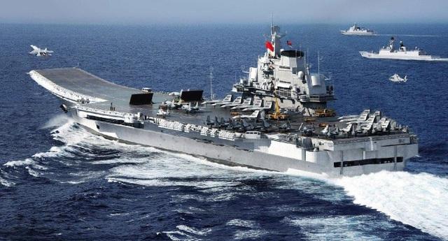 Tàu sân bay Liêu Ninh của Trung Quốc. (Ảnh: USNI)