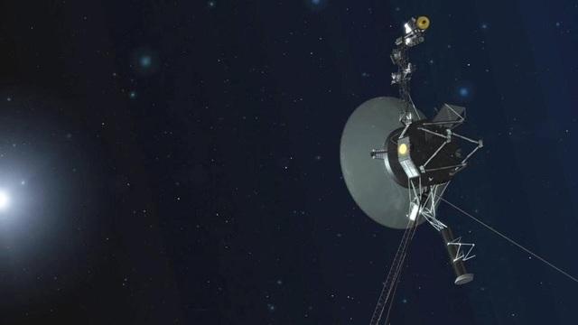 Hình ảnh minh họa tàu thăm dò Voyager 1 – con tàu được phóng năm 1977 và hiện nay là phi thuyền đi xa Trái Đất nhất.