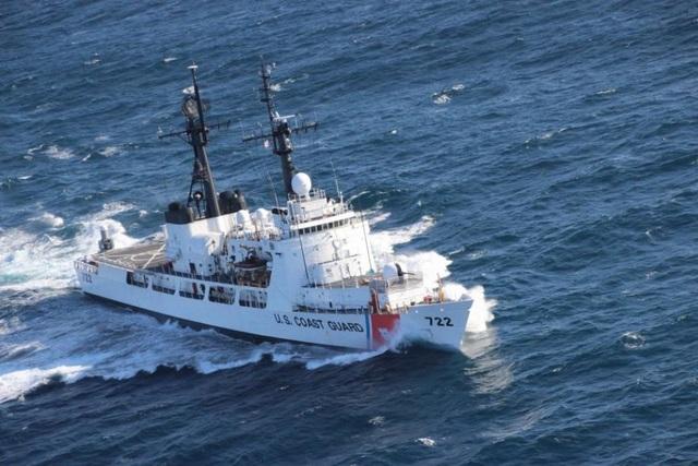 Tàu tuần tra USCGC Morgenthau. (Ảnh: US Navy)