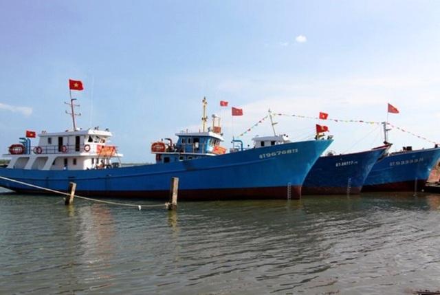 Nhiều ngư dân Quảng Trị đã tiếp cận được nguồn vốn vay để đóng mới tàu vỏ thép theo Nghị định 67