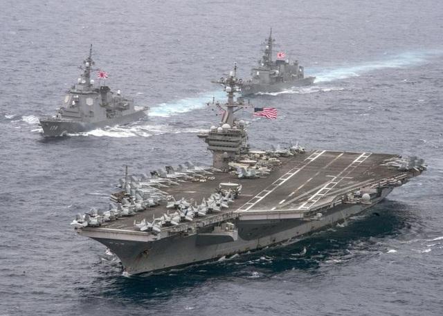 Tàu USS Carl Vinson của Mỹ. (Ảnh: Reuters)