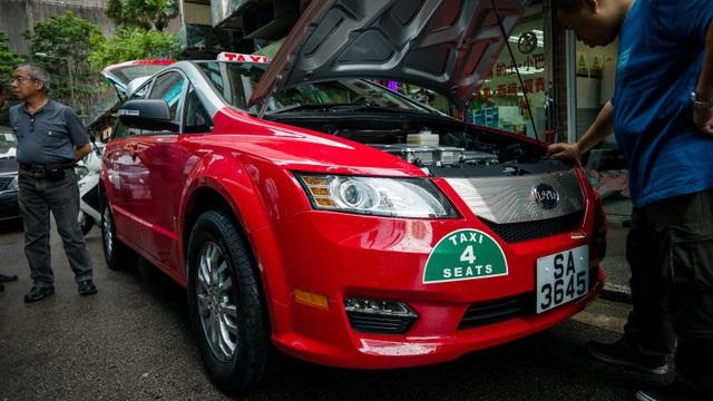 Bắc Kinh muốn thay tất cả taxi bằng xe chạy điện - 1