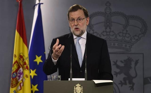 Thủ tướng Tây Ban Nha Mariano Rajoy (Ảnh: Reuters)