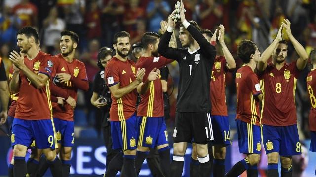 Tây Ban Nha chỉ nằm trong nhóm hạt giống số 2 ở World Cup 2018