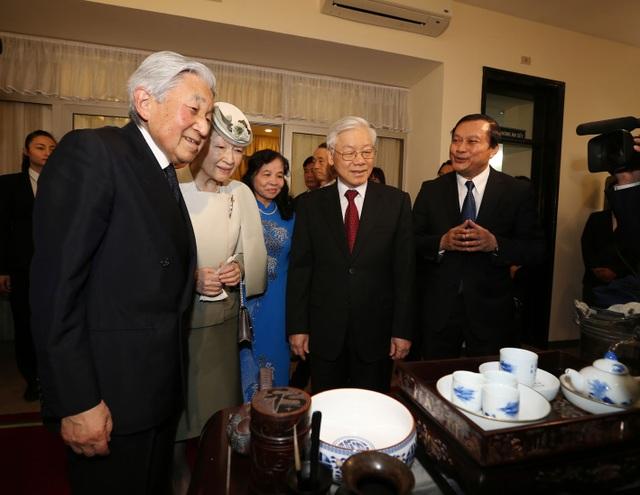 Nhật hoàng dự tiệc trà cùng Tổng Bí thư Nguyễn Phú Trọng - 4