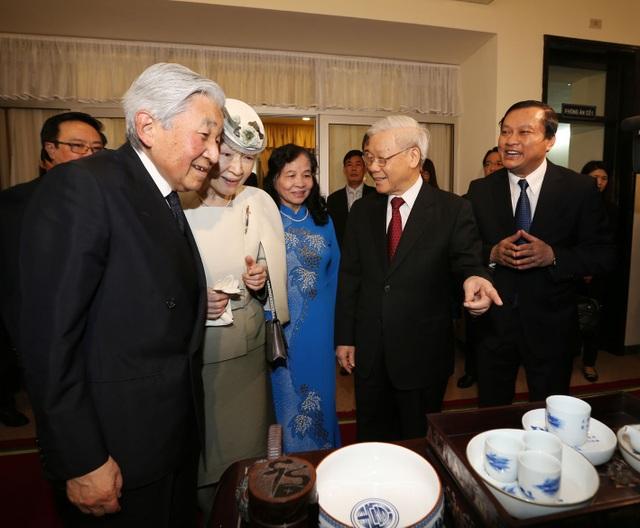 Nhật hoàng dự tiệc trà cùng Tổng Bí thư Nguyễn Phú Trọng - 3