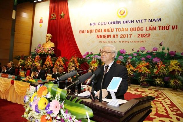 Tổng Bí thư Nguyễn Phú Trọng dự và phát biểu chỉ đạo tại Đại hội.