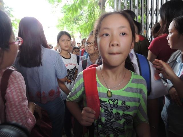 Học sinh tham gia kỳ khảo sát vào lớp 6 Trường THPT chuyên Trần Đại Nghĩa, TPHCM
