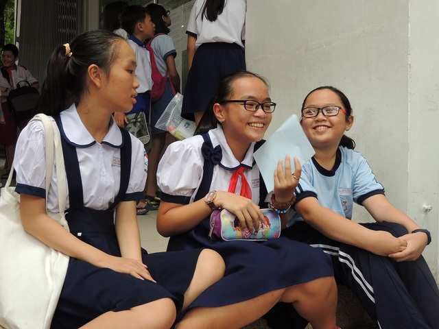 Nhiều khả năng, điểm chuẩn vào lớp 6 Trường THPT chuyên Trần Đại Nghĩa là 58 điểm.