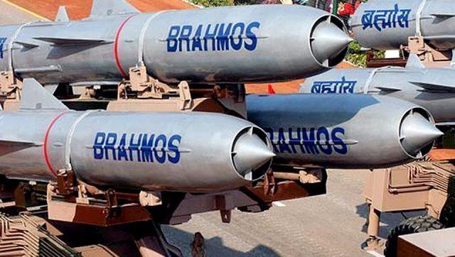 Tên lửa Brahmos (ảnh minh hoạ)