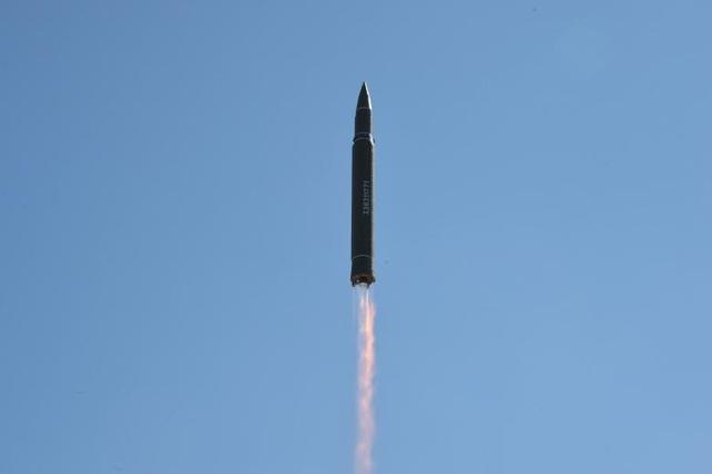 Mỹ xác nhận tên lửa Triều Tiên phóng ngày 4/7 là tên lửa liên lục địa. (Ảnh: Reuters)