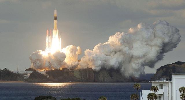 Nhật Bản phóng vệ tinh viễn thông quân sự đầu tiên hôm 24/1 (Ảnh: Reuters)
