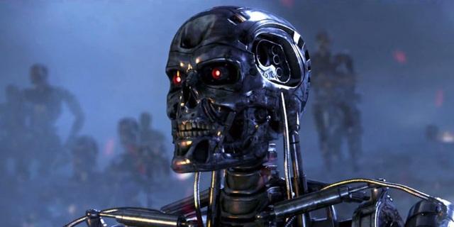 Viễn cảnh robot hủy diệt nhân loại trong bộ phim nổi tiếng Terminator