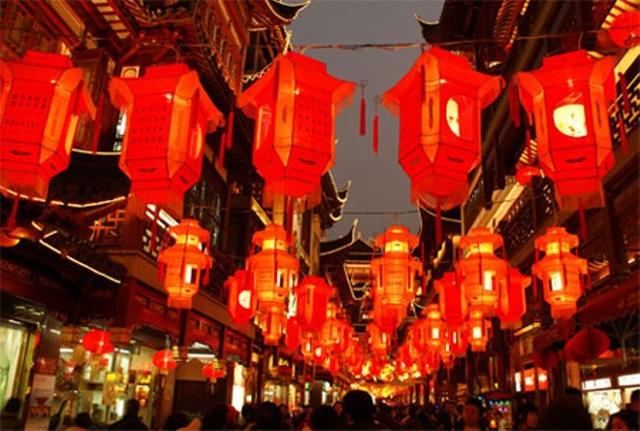 Tết Nguyên Tiêu ở Trung Quốc còn được gọi là Tết Hoa Đăng.