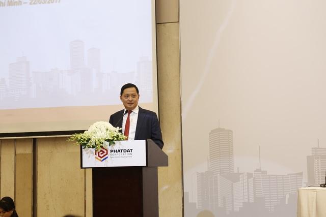 Ông Nguyễn Văn Đạt, Chủ tịch Công ty Cổ phần Phát triển Bất động sản Phát Đạt