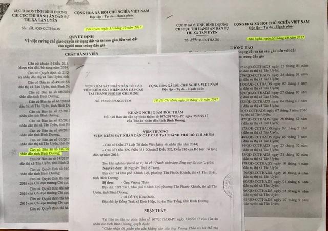 Quyết định khám nghị giám đốc thẩm của Viện KSND Cấp cao tại TP.HCM đối với bản án dân sự ngày 7/1/2016 của TAND tỉnh Bình Dương