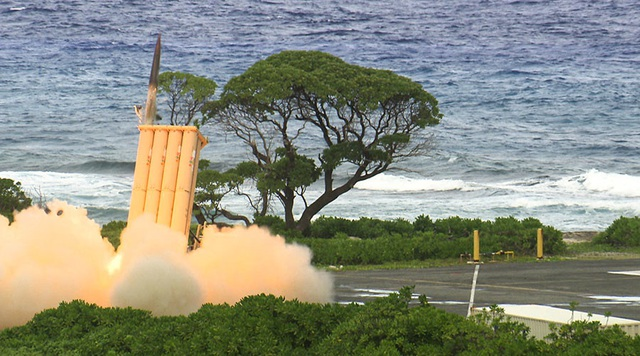 Hệ thống phòng thủ tên lửa THAAD (Ảnh: mda.mil)