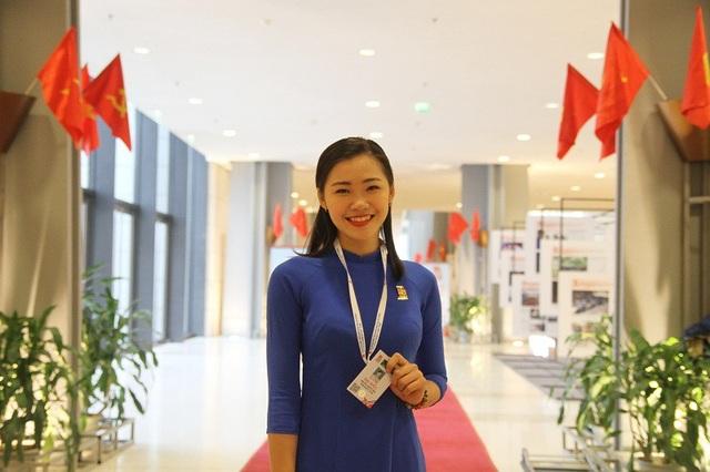 Nữ sinh thay mặt tuổi trẻ Thủ đô đọc tham luận tại phiên trọng thể Đại hội Đoàn XI là ai? - 3
