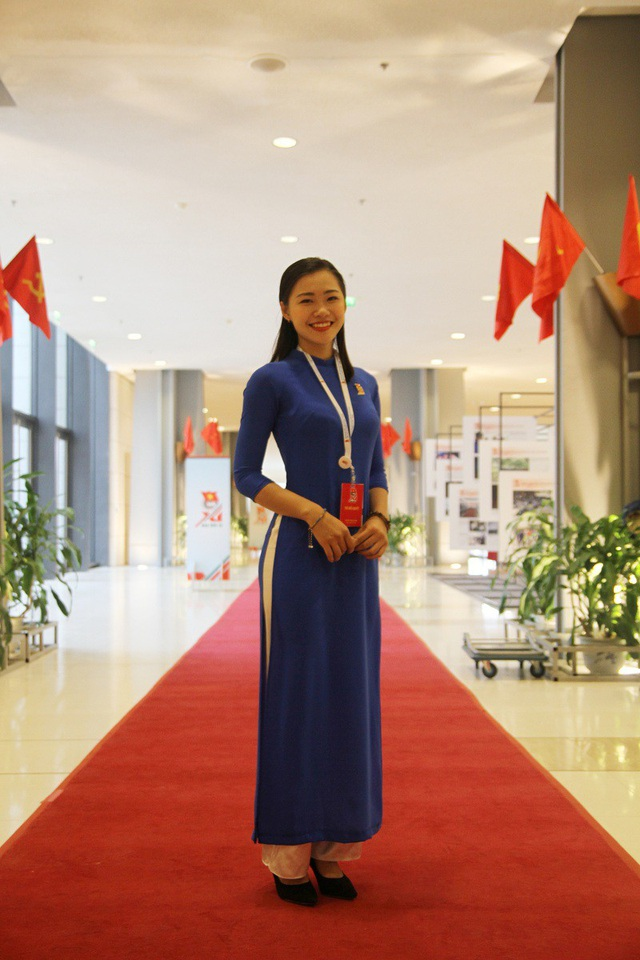 Nữ sinh thay mặt tuổi trẻ Thủ đô đọc tham luận tại phiên trọng thể Đại hội Đoàn XI là ai? - 4