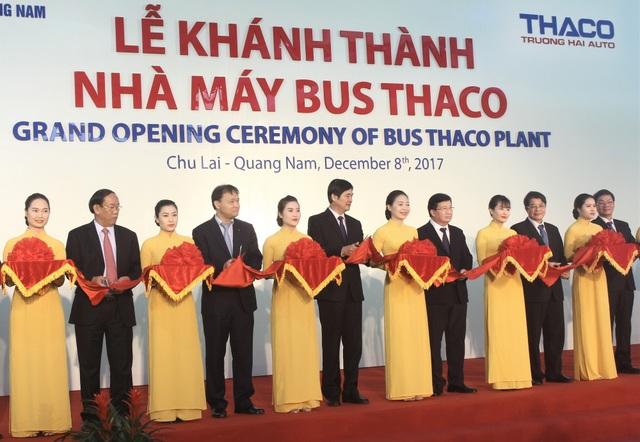 Nhà máy Bus Thaco có tổng vốn đầu tư 7.000 tỷ đồng. (Ảnh: Hồng Vân)