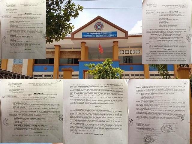 Bản án có hiệu lực sau 2 lần xét xử nhưng đến nay đã hơn 11 năm vẫn chưa được thực hiện, Chi cục Thi hành án huyện Tân Châu, tỉnh Tây Ninh vẫn loay hoay chưa tìm ra giải pháp.