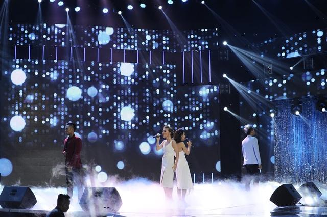 Hai cặp thí sinh Gia Bắc - Hồng Đào và Thành Tuấn - Ngọc Lan cũng mang đến một phần đối kháng ấn tượng với hai ca khúc Thầm gọi tên anh và Mãi là người đến sau.