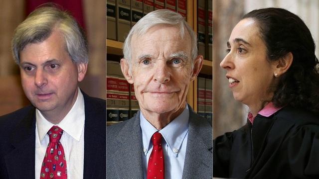 3 thẩm phán của tòa phúc thẩm ở San Francisco. (Ảnh: Getty)