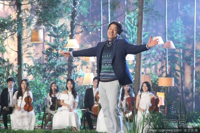 Thành Long trình diễn ca khúc mới tại Đài Loan, ngày 28/8.