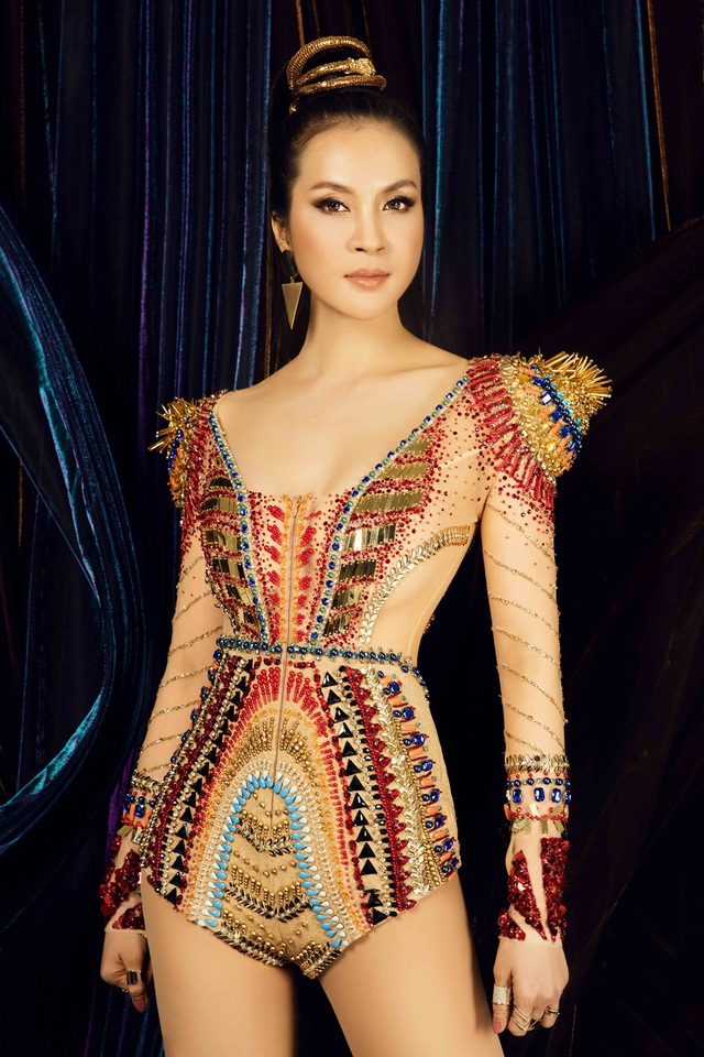 MC Thanh Mai luôn thần tượng và ngưỡng mộ Nữ hoàng Cleopatra VII - vị Pharaoh cuối cùng của Ai Cập cổ đại.
