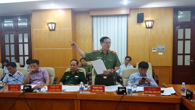 Thiếu tướng Phạm Lê Xuất - Phó Chánh Thanh tra Bộ Công an (Ảnh: T.K)