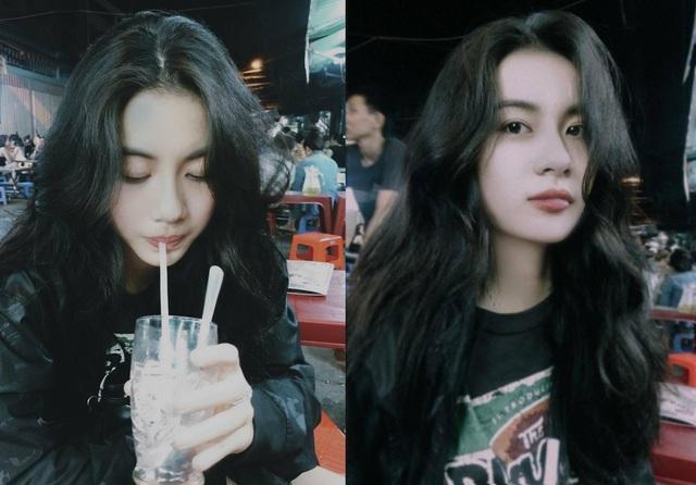 Vẻ đẹp ngắm mãi không chán của nữ sinh Nguyễn Vi.