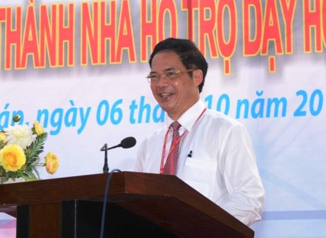 NGƯT, PGS.TS Nguyễn Văn Đệ - Hiệu trưởng trường ĐH Đồng Tháp.