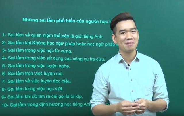 Thầy Phạm Trọng Hiếu.