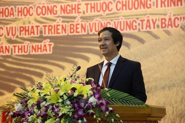 PGS.TS Nguyễn Kim Sơn - Giám đốc Đại học Quốc gia Hà Nội, Chủ nhiệm Chương trình Tây Bắc