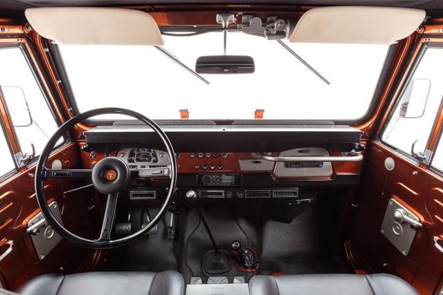"""Toyota FJ40 Land Cruiser 1972 - """"Đồng nát"""" lên đời - 8"""