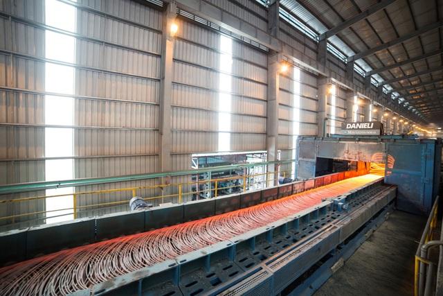 Từ đầu năm 2017 đến nay, Hòa Phát đã xuất khẩu khoảng 66.000 tấn thép xây dựng, thép cuộn chất lượng cao