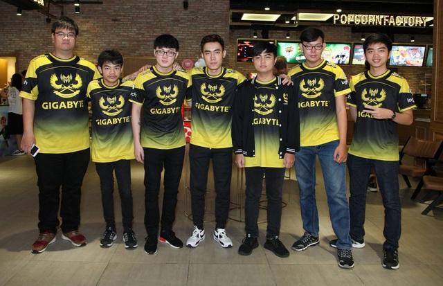 Đội Gigabyte Marines đại diện cho Việt Nam tham dự VCK giải thể thao điện tử thế giới, nội dung Liên minh huyền thoại