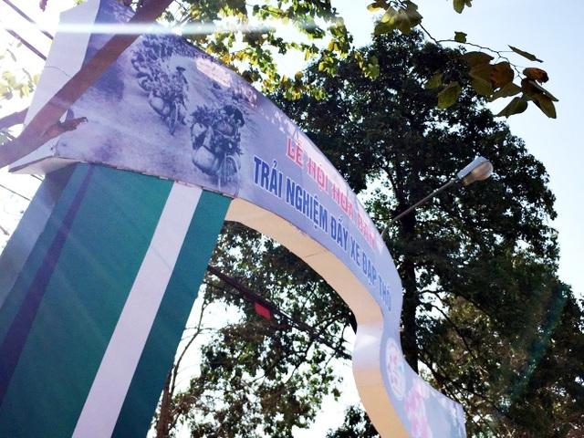Sôi nổi tái hiện xe đạp thồ Điện Biên Phủ tại Lễ hội Hoa Ban - 3