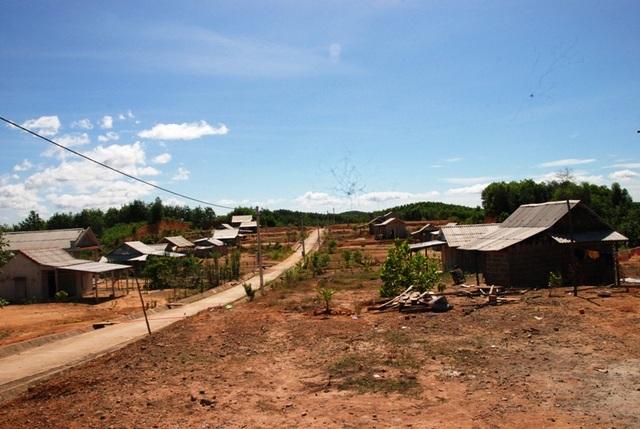 Người dân tại Khu tái định cư Khe Trổ vẫn chưa có đất sản xuất