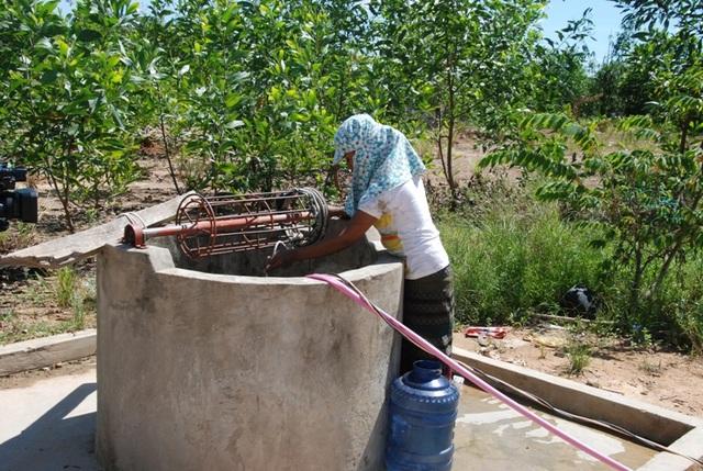 Người dân nơi đây vẫn sống trong cảnh thiếu nước sinh hoạt