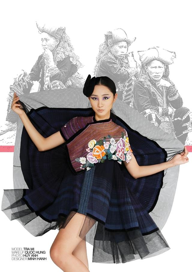NTK Minh Hạnh sẽ giới thiệu một phong cách Việt Nam qua BST thổ cẩm.