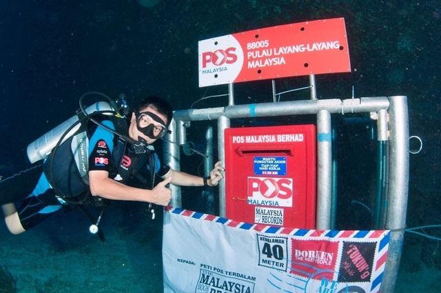 Đi khắp thế giới xem những hòm thư nằm dưới nước siêu độc đáo - 3