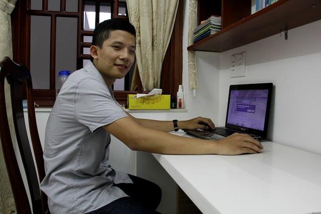Tự học trên internet là một trong những phương pháp Thông rất thích.