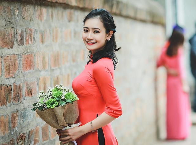 Nữ Thủ khoa tốt nghiệp hệ Dân sự Học viện an ninh nhân dân Lê Thị Hoàng Anh