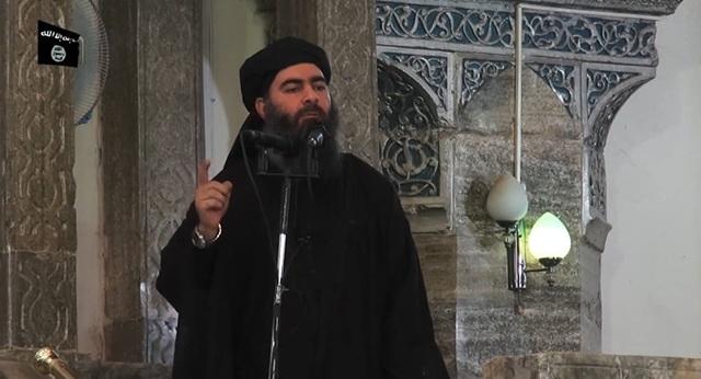 Thủ lĩnh tối cao của Tổ chức Nhà nước Hồi giáo tự xưng (IS) Abu Bakr Baghdadi. (Ảnh: AFP)