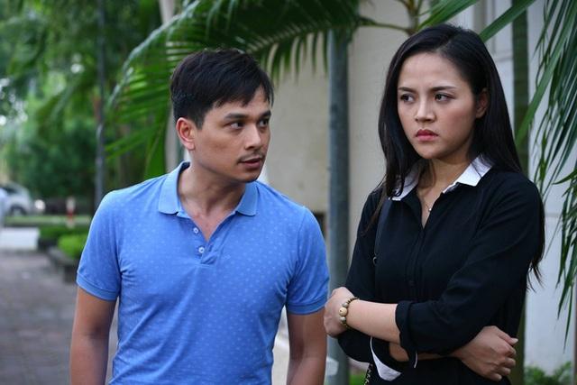 Thu Quỳnh vào vai Trang, vợ của Danh Tùng trong phim Sống chung với mẹ chồng.