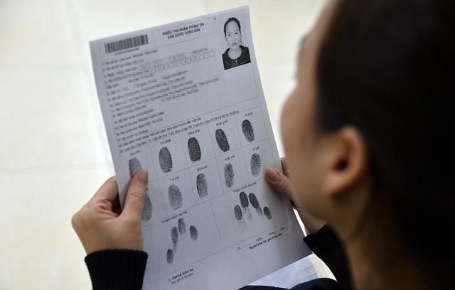 Bộ Công an dự kiến đến năm 2019 sẽ thu thập đủ 15 thông tin cơ bản của công dân để hoàn thiện Cơ sở dữ liệu quốc gia về dân cư.